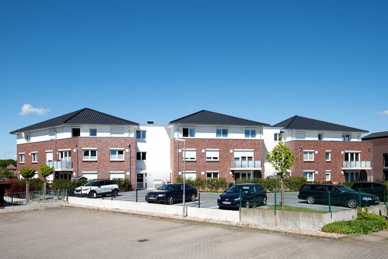 Neubau eines Mehrfamilienhauses mit 22 Wohneinheiten und einer Teilunterkellerung