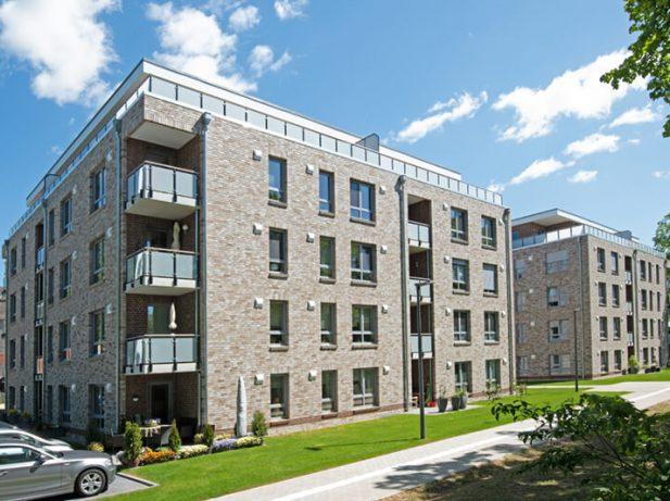 Neubau von 2 x 28 Wohneinheiten mit Teilunterkellerung