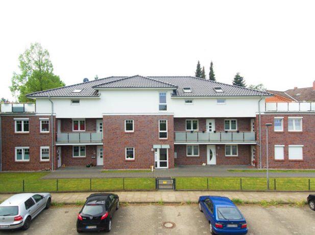 Neubau eines Mehrfamilienhauses mit 13 Wohneinheiten und Unterkellerung